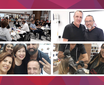MALIA GROUP HOSTS WELLA PROFESSIONALS EDUCATOR WORKSHOPS
